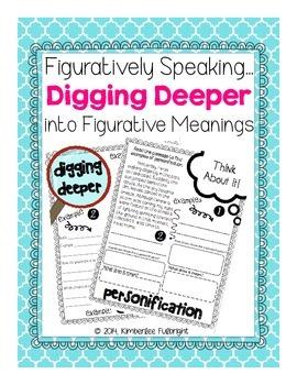 Figurative Language Digging Deeper