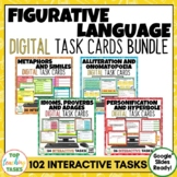 Figurative Language Digital Activities Bundle for Google C