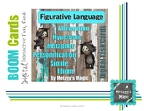 Figurative Language Digital Boom Cards Task Cards