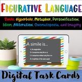 Figurative Language Digital Boom Cards- Distance Learning