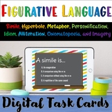 Figurative Language Digital Boom Cards- Distance Learning