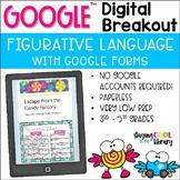 Figurative Language - Digital Breakout for Google Forms