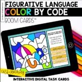 Figurative Language Digital Coloring BOOM Cards™