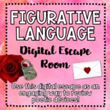 Figurative Language - Digital Escape Room! - Engaging - Po