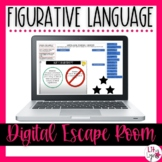 Figurative Language Digital Escape Room | Distance Learning