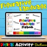 Figurative Language Digital Flipbook (Literary Devices): using Google Slides
