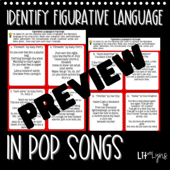 Figurative Language Digital Interactive Notebook- Google Drive