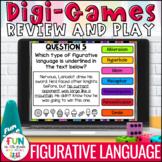Figurative Language Digital Review Activity | Figurative L