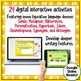 Figurative Language Digital Task Cards Paperless Google Drive® Resource