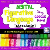 Figurative Language Digital Task Cards for Intermediate Grades (Google Drive)