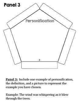 Figurative Language Dodecahedron