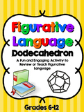 Figurative Language Dodecahedron