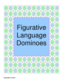Figurative Language Dominoes