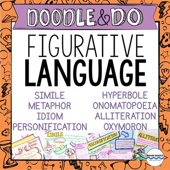 Figurative Language Activities - Doodle Notes and Learning Activities