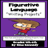 Figurative Language Creative Writing Enrichment Projects M