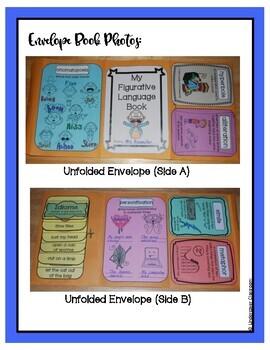 Figurative Language Envelope Book Kit
