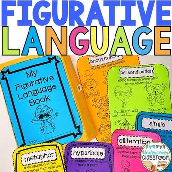 Figurative Language Envelope Book Kit, Figurative Language Activity