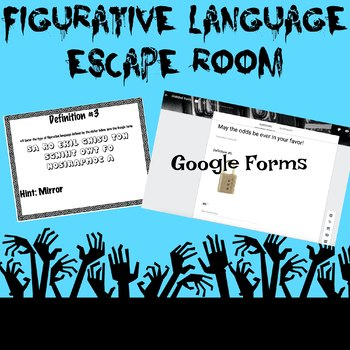 Figurative Language Escape Room Game