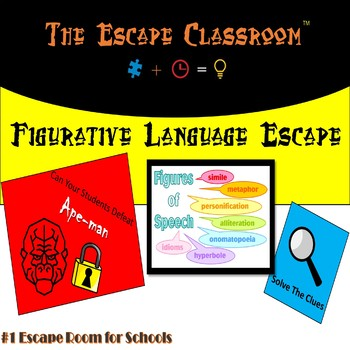 Figurative Language Escape Room | The Escape Classroom