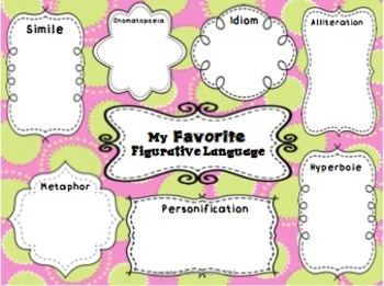 Figurative Language Unit! Similes, Metaphors and Much, Much More!