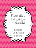 Figurative Language FREEBIE