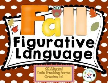 Figurative Language Fall - Data charting included