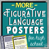 Figurative Language | Figures of Speech Posters for High School #2