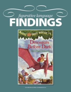Figurative Language Findings: Magic Tree House #1: Dinosau