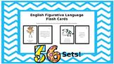 Figurative Language Flash Cards; Language Impairment; Autism; ESL