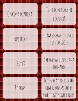 Figurative Language Flashcards