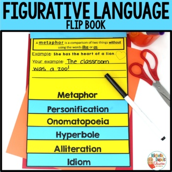 Figurative Language Activity:  Flip Book
