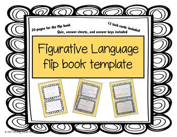 Figurative Language Flip Booklet for Kids