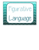 Figurative Language Flip book with Examples