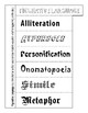 Figurative Language Foldable (3 tier - Define & Depict)