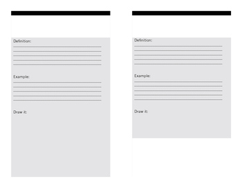 Figurative Language Foldable Book