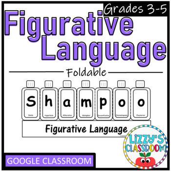 Figurative Language Foldable- SHAMPOO