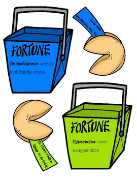 Figurative Language Fortune Cookies