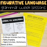 Figurative Language | Full Week Lesson Plans for Third Grade