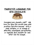 Figurative Language Fun with Chocolate