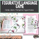 Figurative Language Game- Similes, Metaphors, Idioms, & Hy