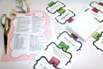 Figurative Language Game- Similes, Metaphors, Idioms, & Hyperboles!