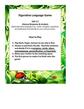 Figurative Language Game Cards