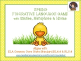 Figurative Language Game - Spring