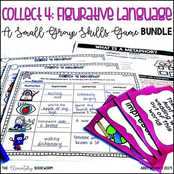 Figurative Language Activities: Games and Printables
