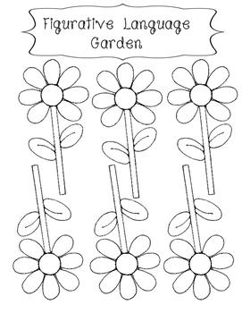 Figurative Language Garden (Interactive Notebook)