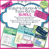 Figurative Language, Grammar, & Literary Terms Task Card BUNDLE
