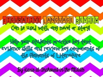 Figurative Language Graphic Organizer
