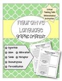 Figurative Language Graphic Organizers ELA