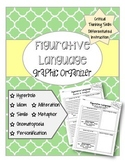 Figurative Language Graphic Organizers ELA