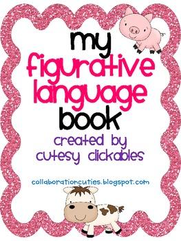 Figurative Language Graphic Organizer Book